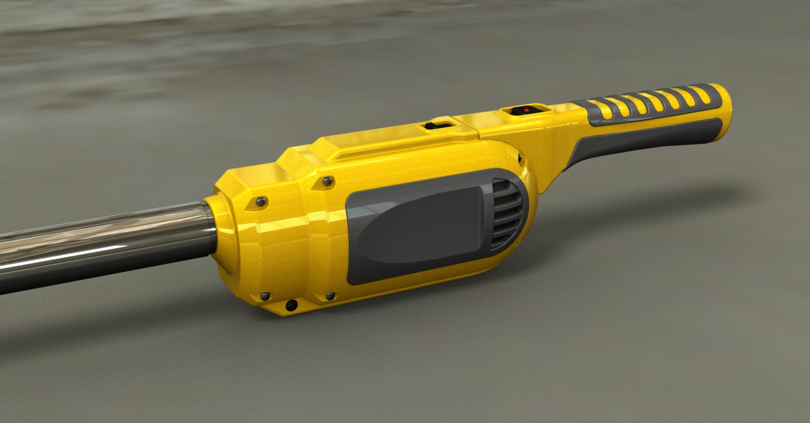 Rendering of Airlighter design - yellow