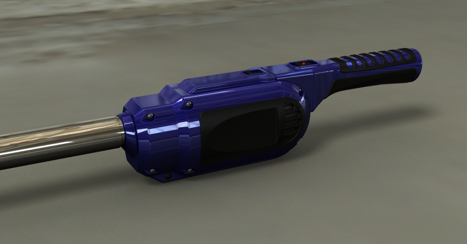Rendering of Airlighter design - blue