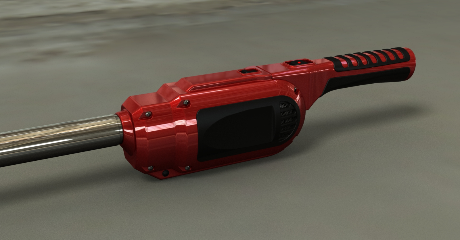 Rendering of Airlighter design - red