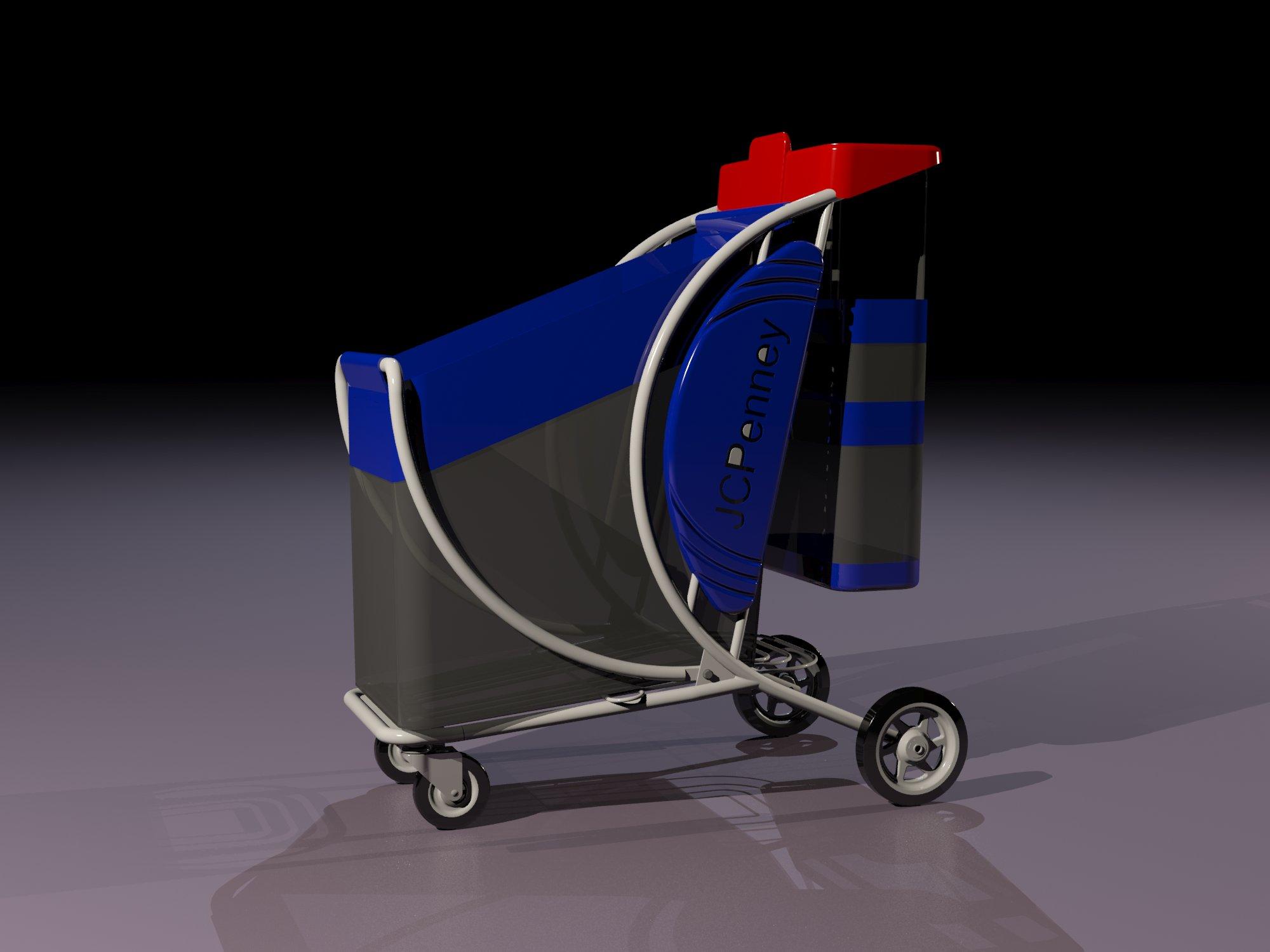 Mesh bag cart