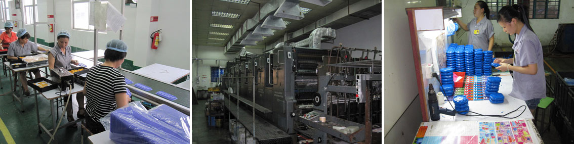 Production factory in China