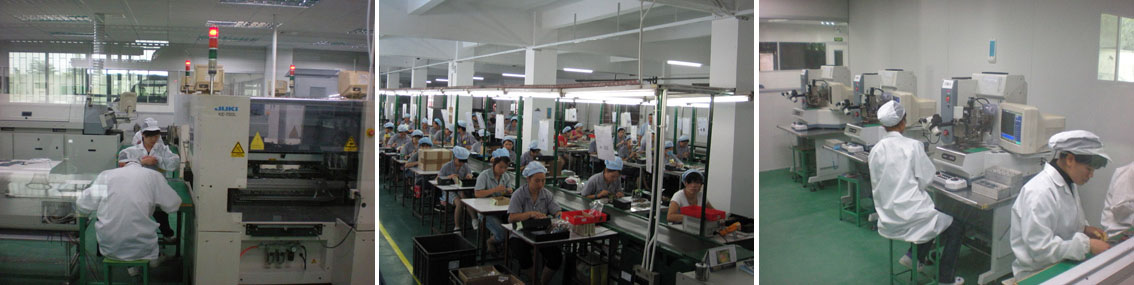 Manufacturing facility in China
