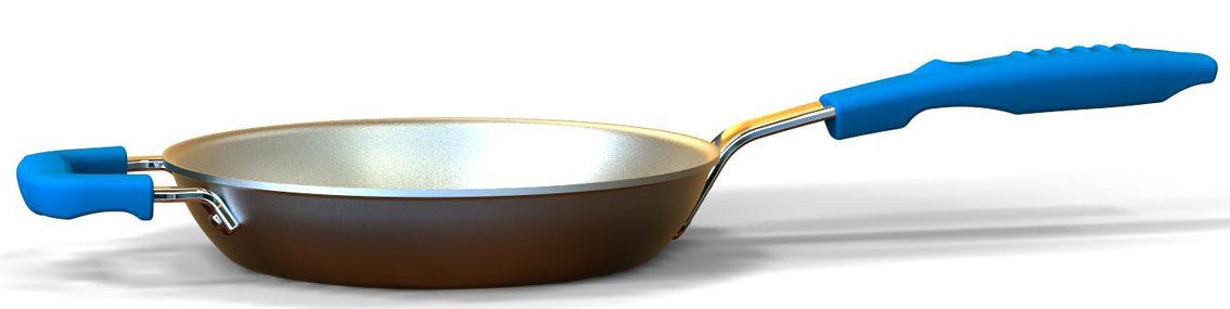 Design of frying pan.