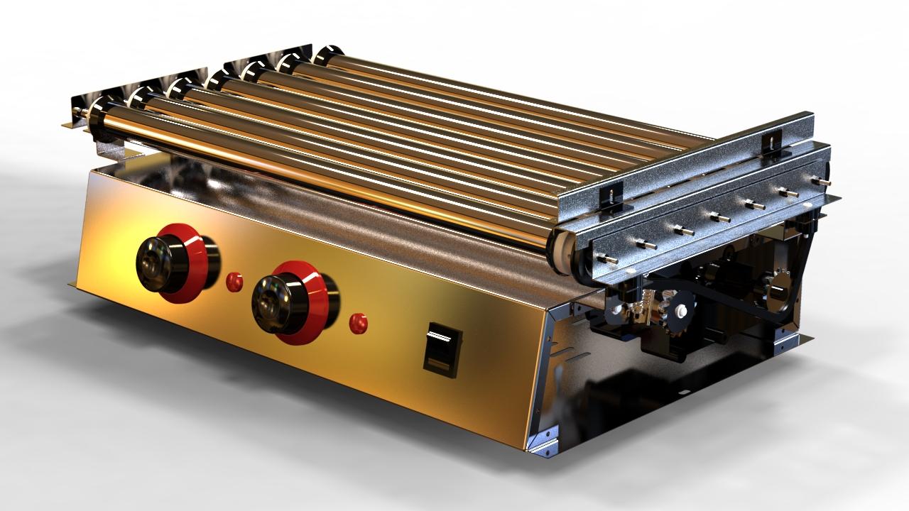 Roller grill design.