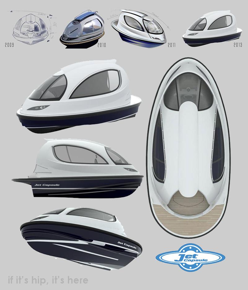jetcapsule design evolution IIHIH