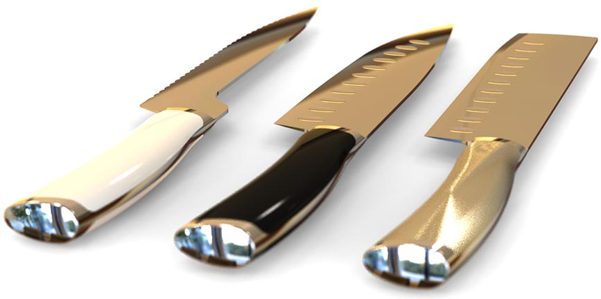 Design of forged chef knives