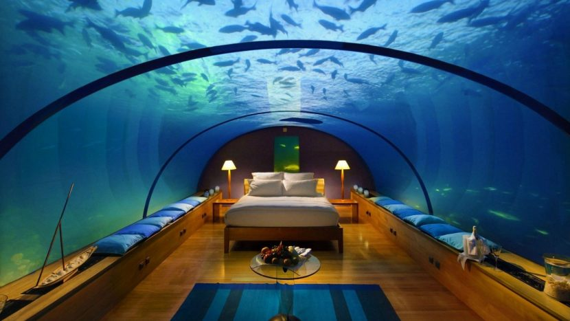 see feel the wonders of the world underwater hotels